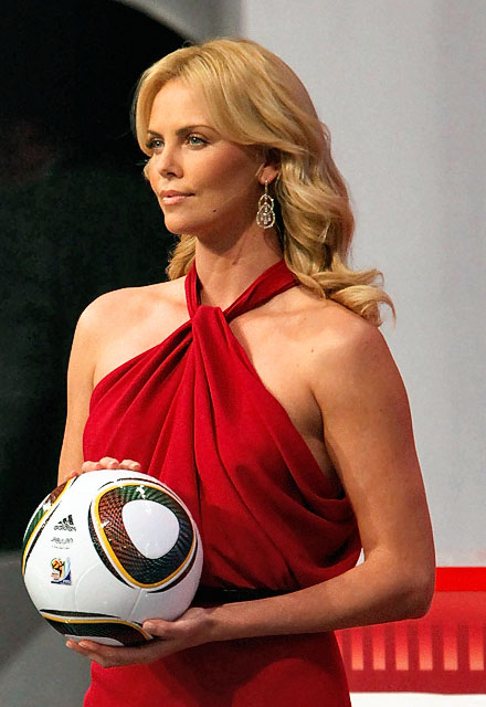 World Cup Drawing Charlize Theron Pics Cool Video Sexy Images Pictures