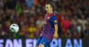 Iniesta beats Messi and CR7 for award thumbnail